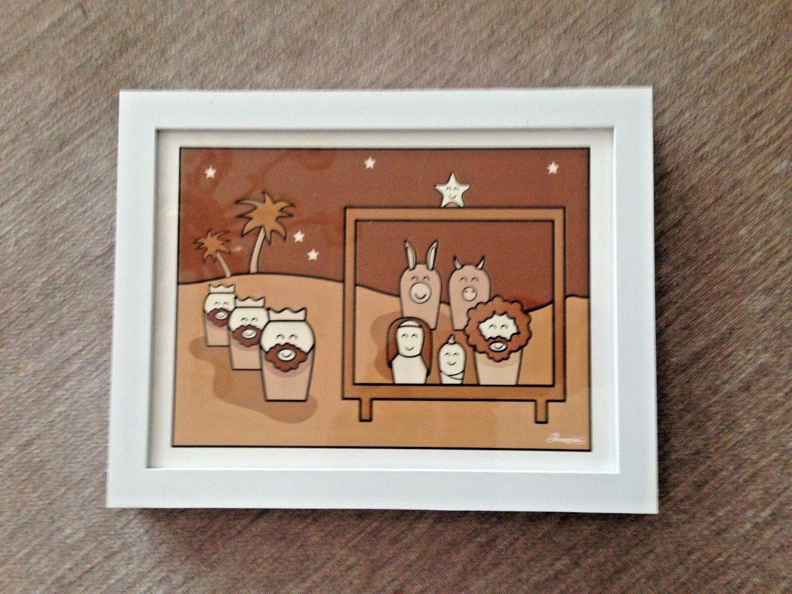 Human Tales Kinderzimmer Bild mit Rahmen 18x24 Zeichentrick Pop art ...