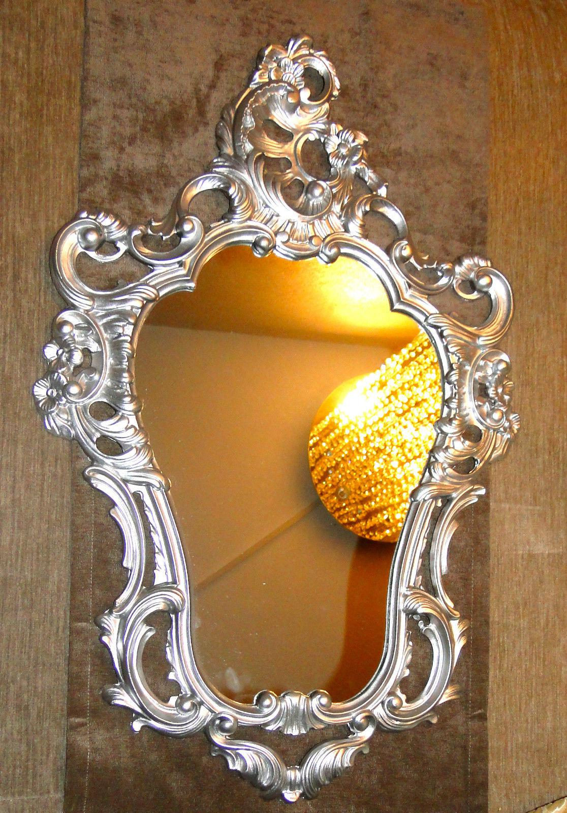 wandspiegel oval 76x50 spiegel barock antik badspiegel. Black Bedroom Furniture Sets. Home Design Ideas
