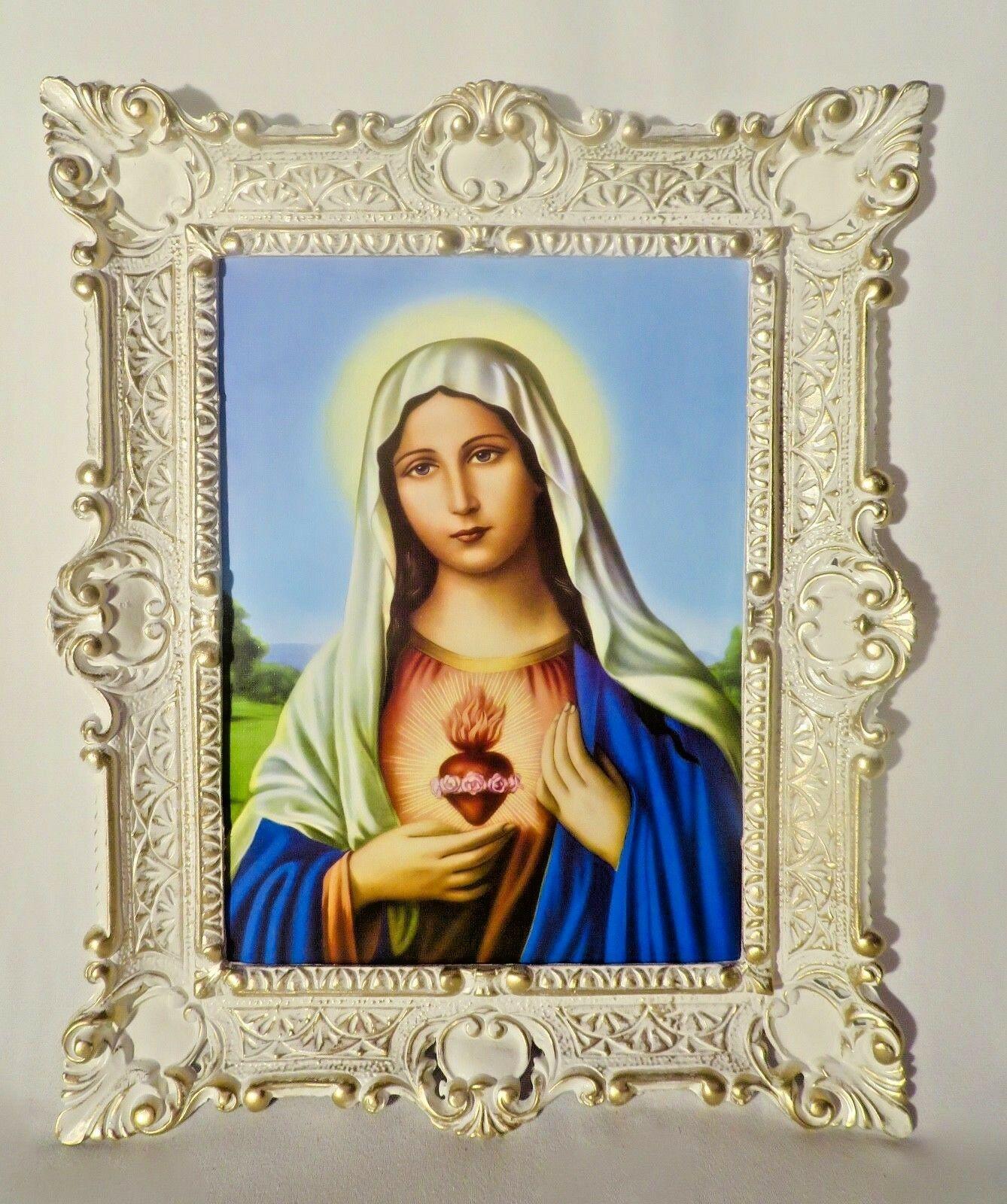 Gemälde mit Rahmen Christliche religiöse Bild Heilige Maria Bild ...