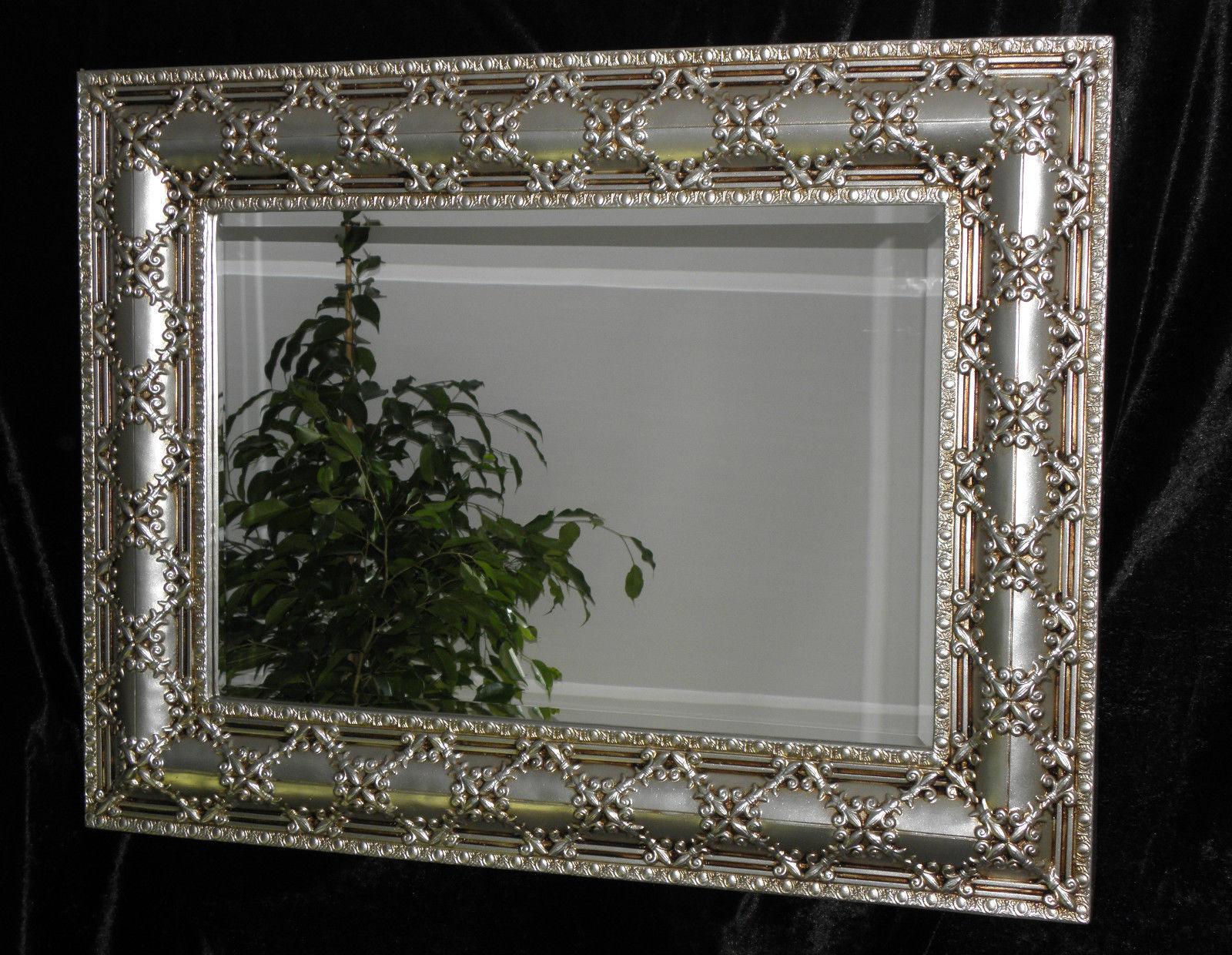 Spiegel Mit Silbernen Rahmen. Elegant Spiegel Mit Goldrahmen Maak ...