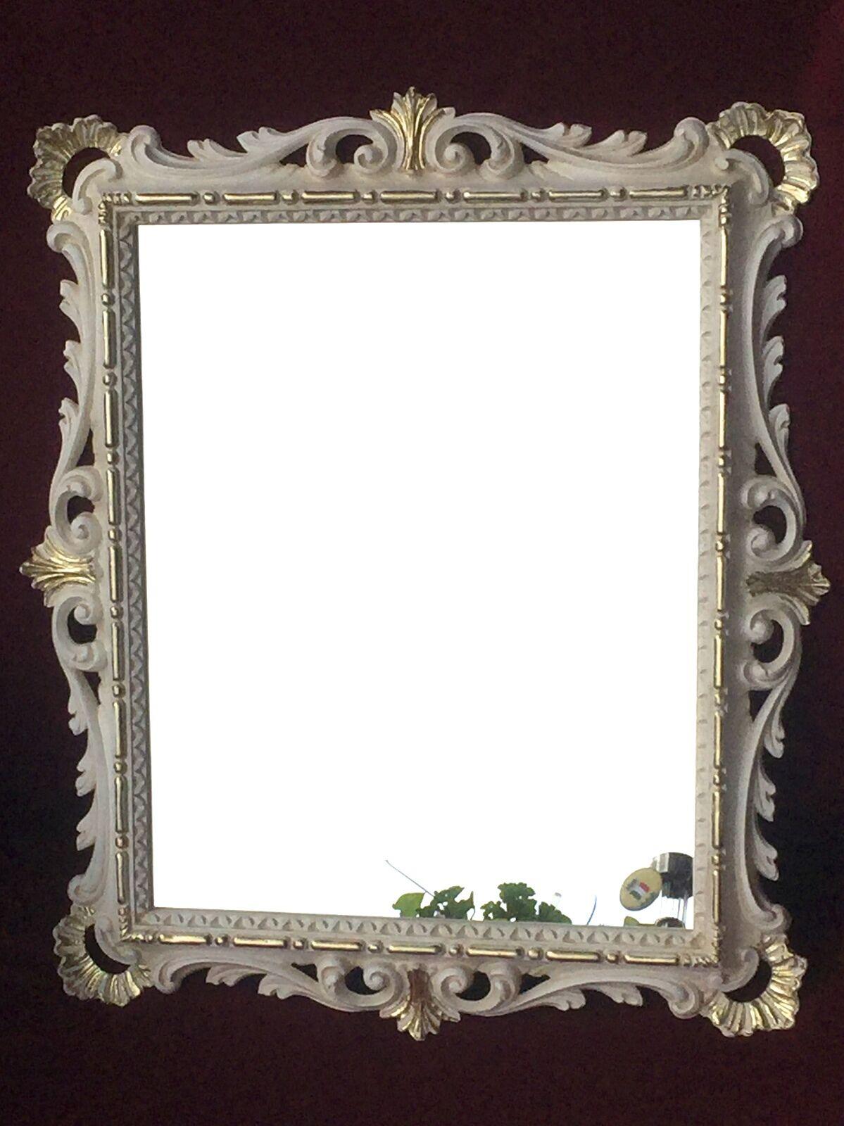 Wandspiegel Gold Ornamente Barockspiegel 43x37 Badspiegel Flurspiegel C532