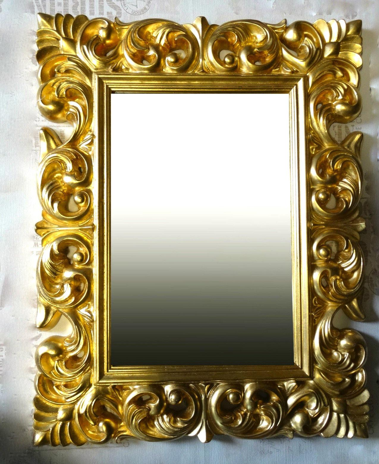 gro er barock wandspiegel ornament 70x90 standspiegel spiegel gold flurspiegel kaufen bei. Black Bedroom Furniture Sets. Home Design Ideas