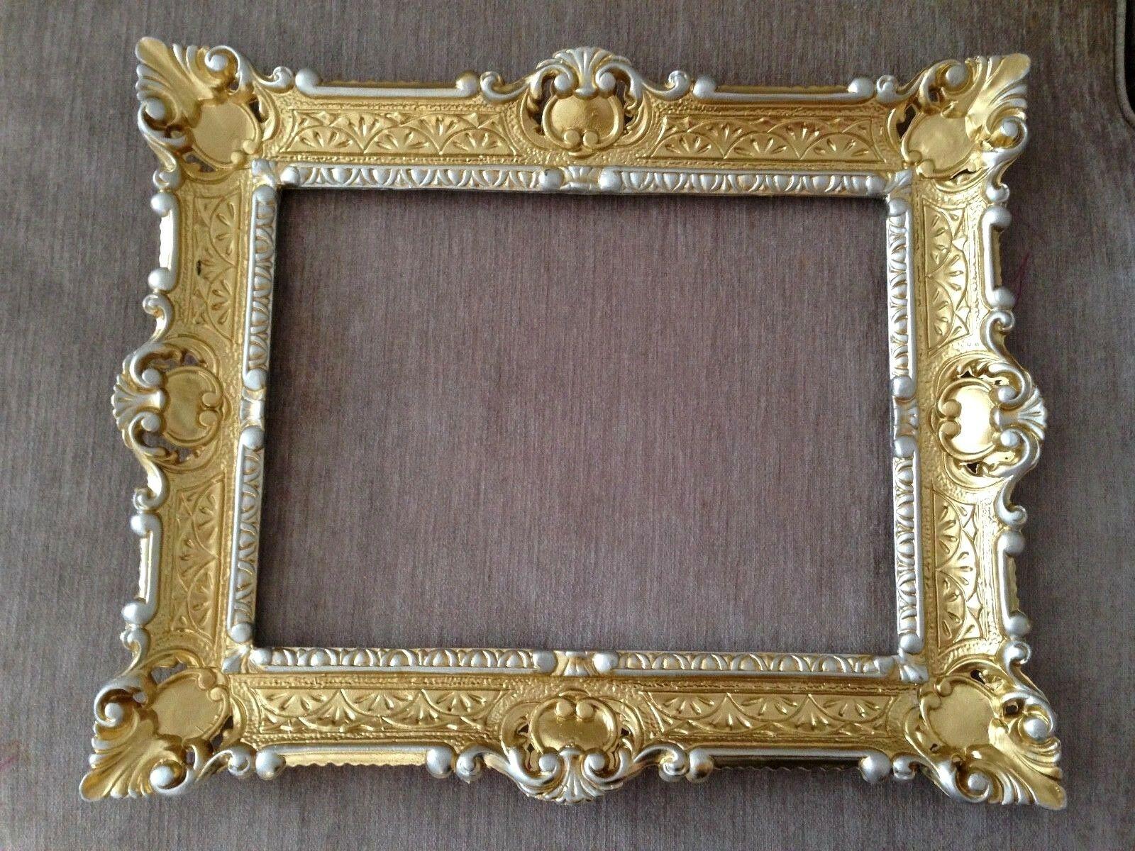Bilderrahmen Fotorahmen Silber oder Gold Antik Optik Neu