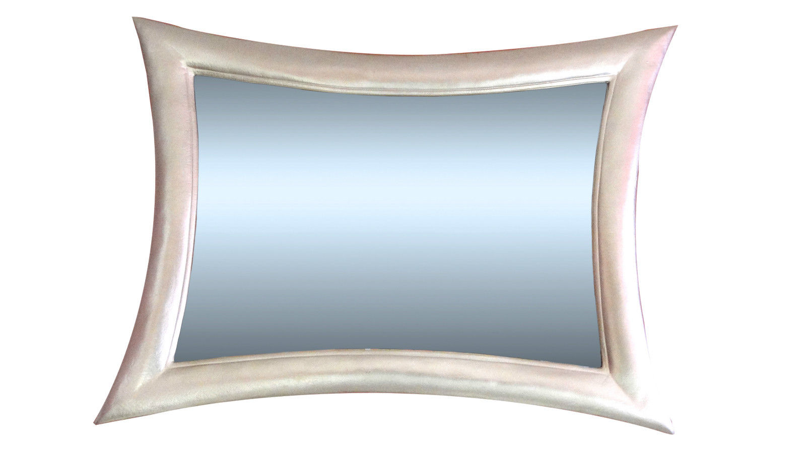 Wandspiegel Spiegel Modern Weiss115x85 Holzrahmen Retro Flurspiegel ...
