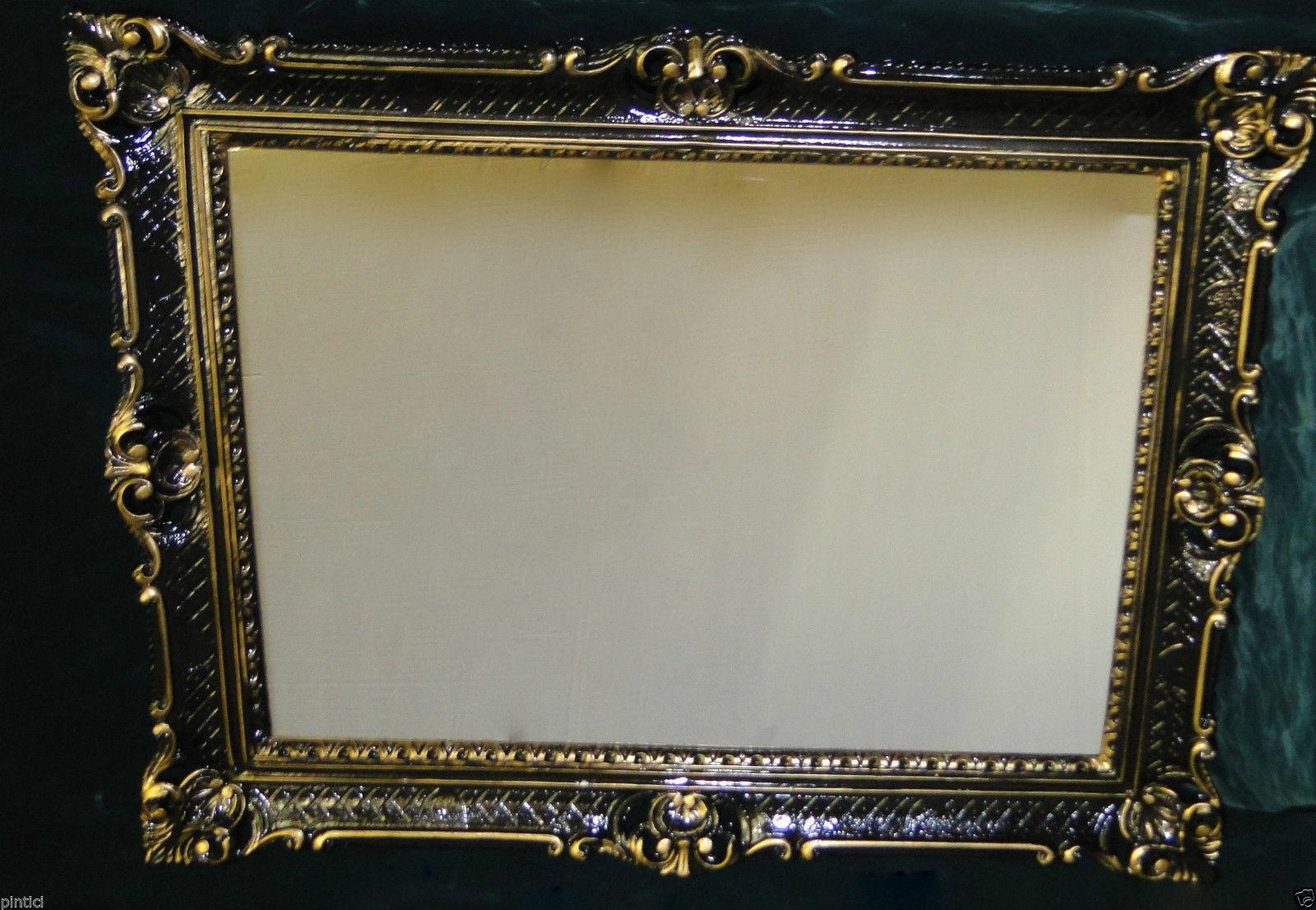 great spiegel antik wandspiegel barock l schwarz gold. Black Bedroom Furniture Sets. Home Design Ideas