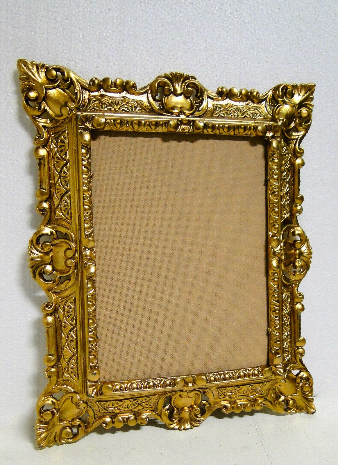 Bilderrahmen Gold 45x38 Fotorahmen BAROCK Rechteckig Antik rahmen ...