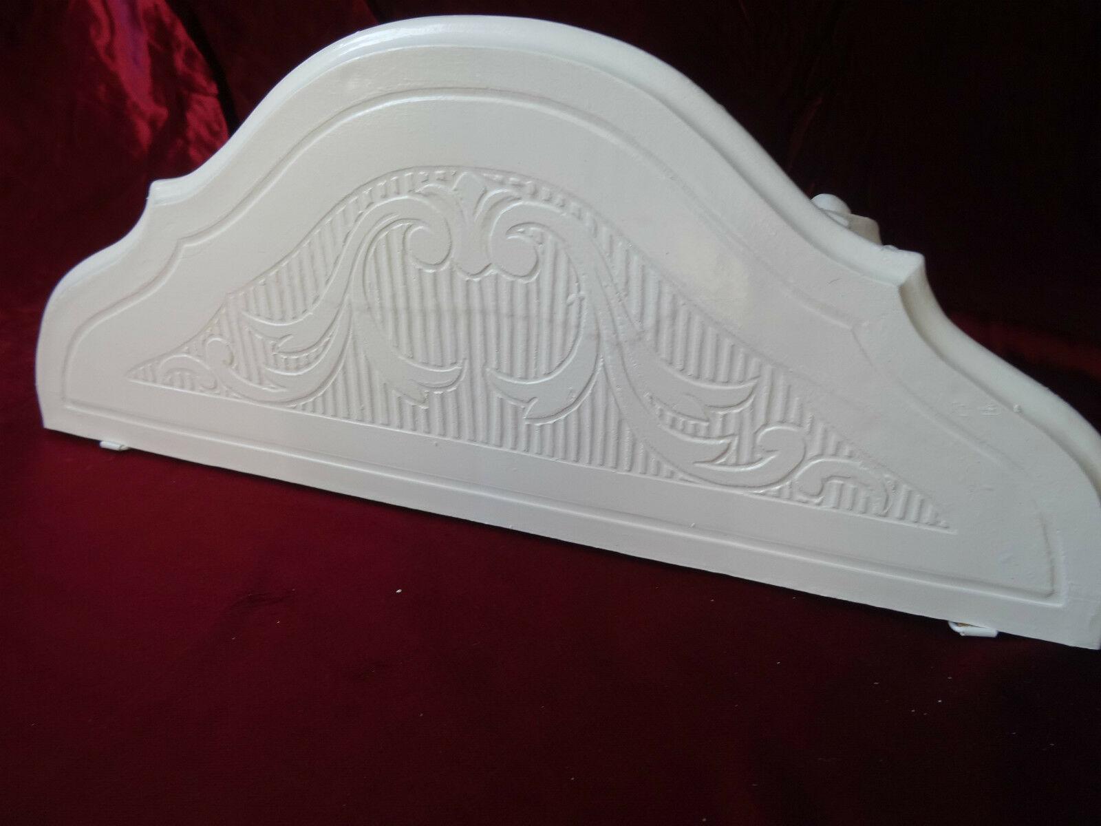 Wandkonsole Weiß Barock Wandspiegelkonsole Antik /Wandregal 38x20 Telefontisch Meble w stylu od 1945 Meble i wyposażenie wnętrz