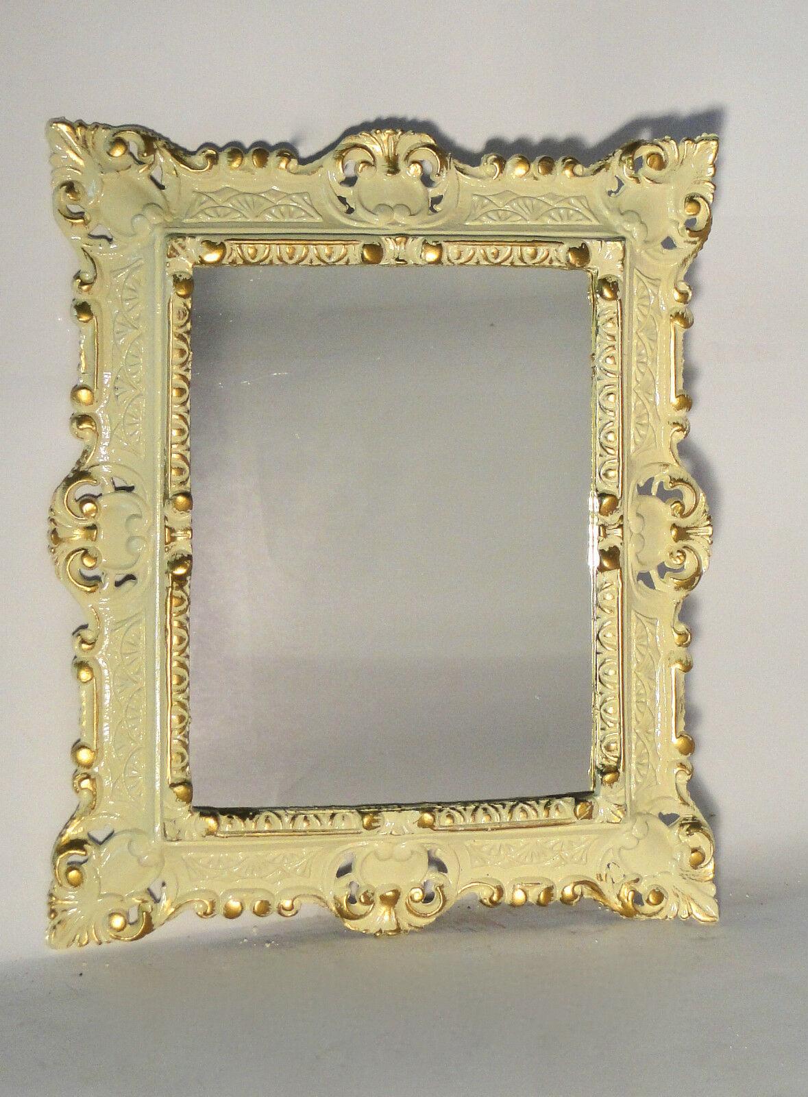 Bilderrahmen Schwarz-gold Barock Fotorahmen  44 X 38 Shabby Antik