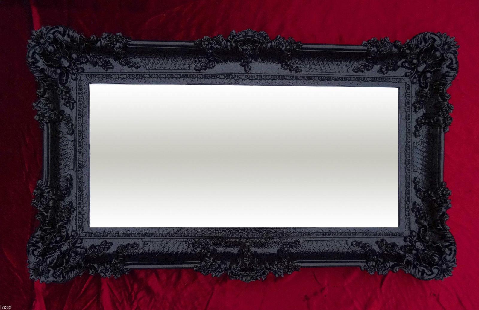 bilderrahmen schwarz barock antik 96x57 bilderrahmen. Black Bedroom Furniture Sets. Home Design Ideas