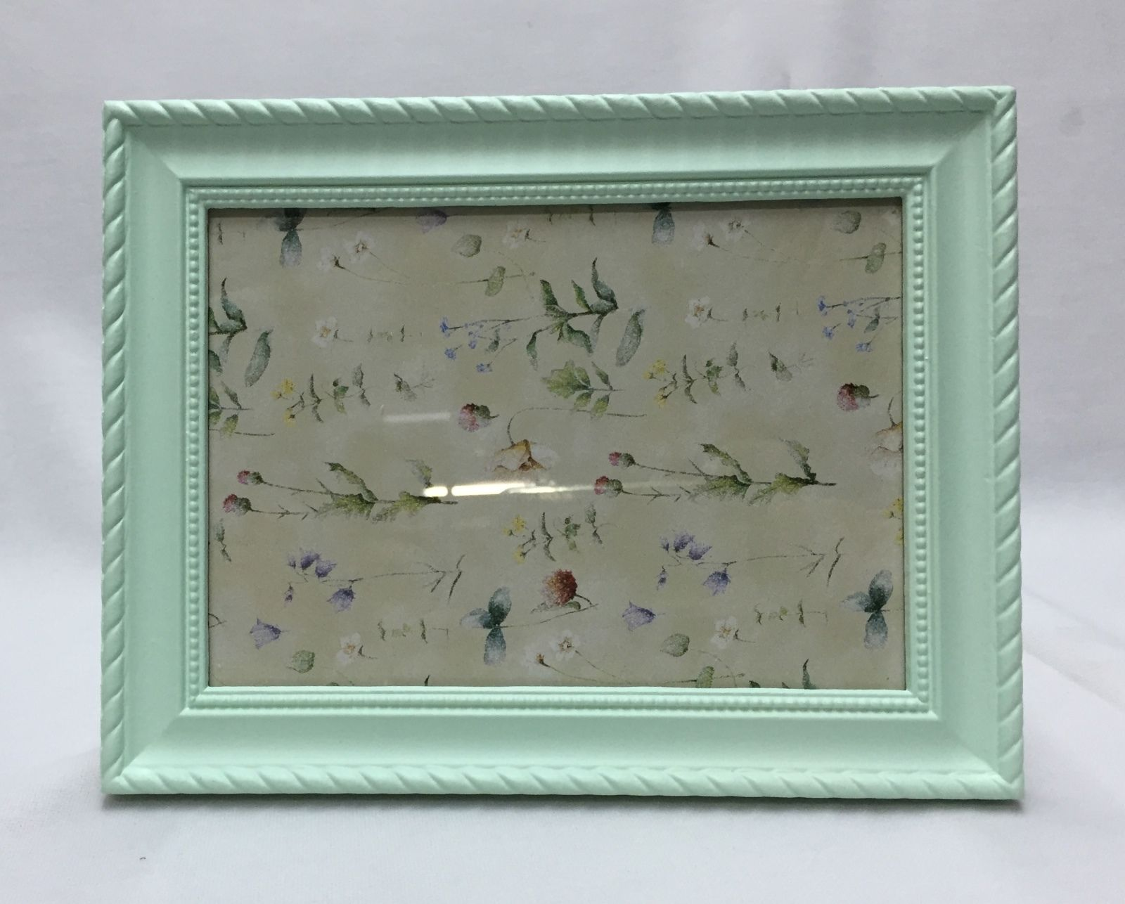 Bilderrahmen grün Mint Barockrahmen Antik 28x21 Fotorahmen Frame ...