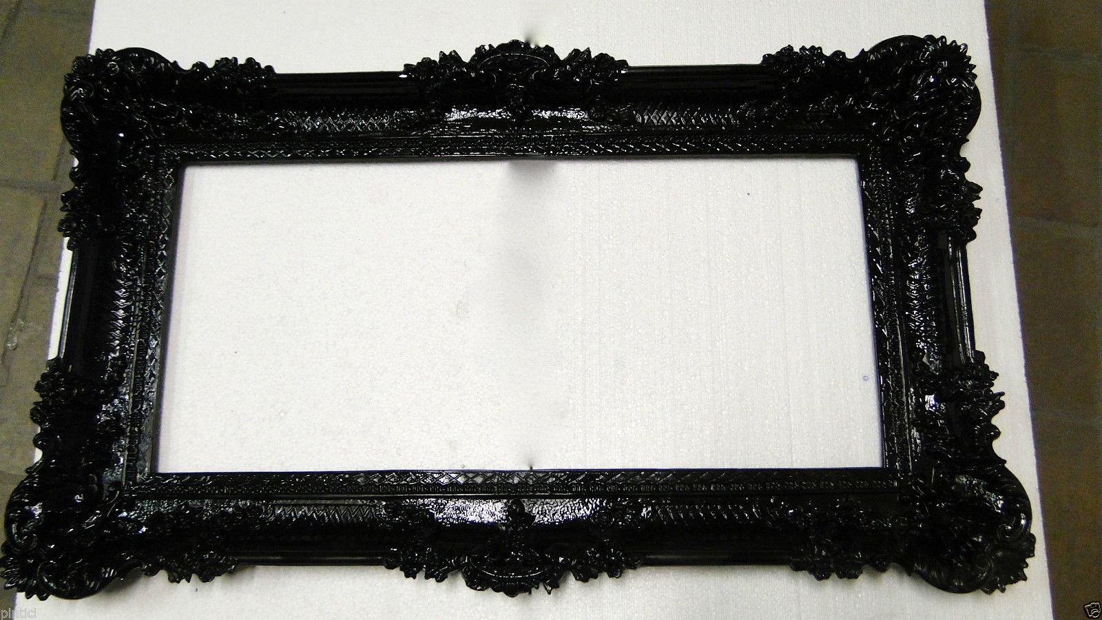 bilderrahmen schwarz barock gro antik 96x57 bilderrahmen barock fotorahmen kaufen bei pintici. Black Bedroom Furniture Sets. Home Design Ideas
