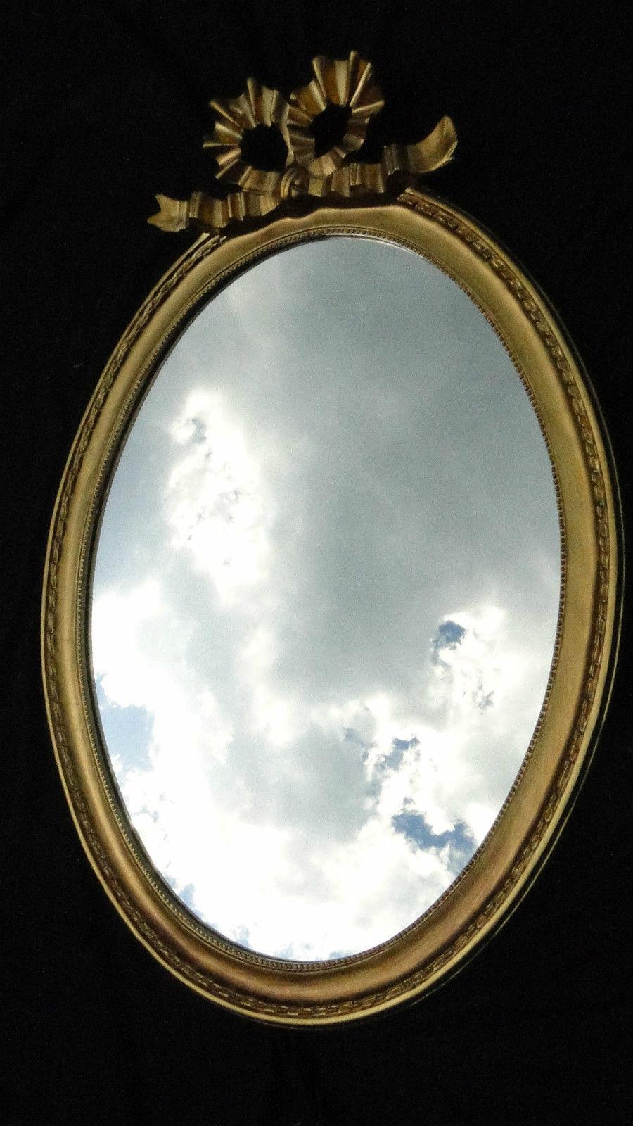 Bilderrahmen 57x41 BAROCK Oval massiv schleife Wanddeko - Kaufen bei ...