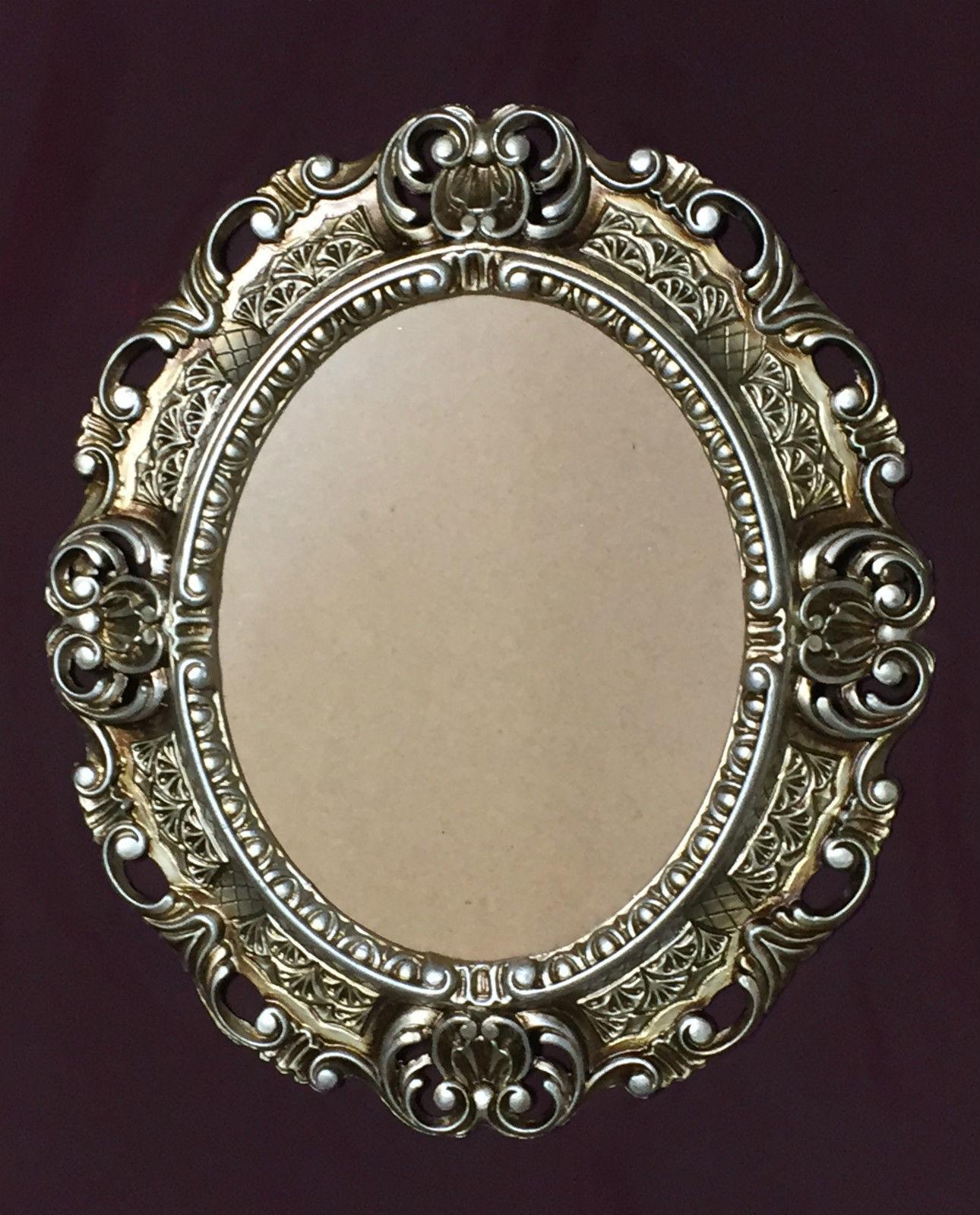 Bilderrahmen Antik Silber Barock Oval 45X37 Fotorahmen Bilderrahmen ...