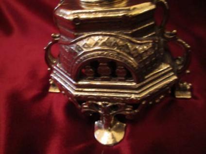 Messing KerzenstÄnder 41cm Barock Massiv Kerzenhalter Deko Gold 5 Armig Antik - Vorschau 3