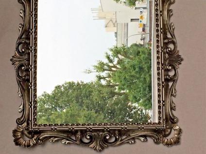 Wandspiegel Barock Antik Silber 38x36 Kosmetikspiegel Badspiegel Friseurspiegel - Vorschau 3
