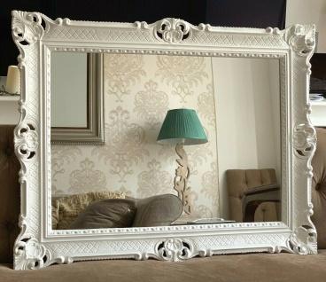 Wandspiegel Weiß Antik Barock Großer Spiegel 90x70 Badspiegel Badspiegel
