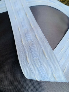5 Meter Faltenband Gardinenband Kräüselband 35mm Vorhänge Meterpreis 0, 99 - Vorschau 2