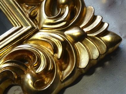 Großer Barock Wandspiegel Ornament 70x90 Standspiegel Spiegel Gold Flurspiegel - Vorschau 3