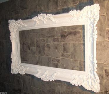 xxl Bilderrahmen Weiß Barock Antik 96x57 Bilderrahmen Barock Fotorahmen Wanddeko
