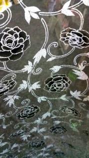 Tischdecke Tischfolie Tischschutz Schutzfolie 90cm transparent mit Muster 2mm