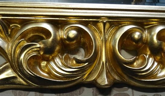 Großer Barock Wandspiegel Ornament 70x90 Standspiegel Spiegel Gold Flurspiegel - Vorschau 2