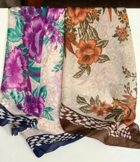 2x Bandana Halstuch Schal 85x85 Kopftuch Tuch Foulard Esarp Hijab Sonderangebot
