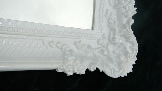 Wandspiegel Barock Spiegel Antik WANDDEKO Badspiegel-Weiss hochglanz 97x57 206