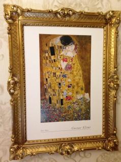 The Kiss Gustav Klimt 90x70 Der Kuss Gemälde Wandbild Kunstdruck Barock Bild - Vorschau 4