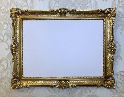 Bilderrahmen 90x70 cm Spiegelrahmen Antik Repro Barock GOLD Prunkrahmen 50x70cm