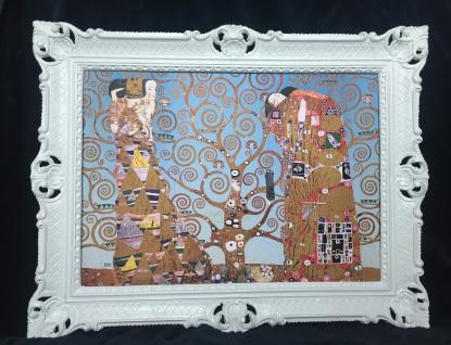 Bild mit Rahmen Gustav Klimt Der Kuss / Tree of life BILD 90x70 Gerahmte Bilder
