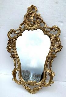 Exklusive Wandspiegel mit Strassstein 50 X 76 ANTIK BAROCK Wanddeko Mirror 3039