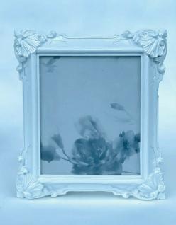 Bilderrahmen Weiß Barock 14x12 Fotorahmen Antik Rahmen Jugendstil Deko Tisch
