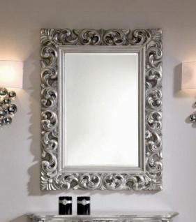 Wandspiegel Antik Silber Barock Friseurspiegel 121x 91 Spiegel Modern Rokoko