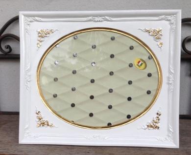 Bilderrahmen Weiß Gold Barock 25x22 Fotorahmen Antik Rahmen Jugendstil Deko
