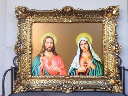 Jesus Christus Mutter Maria Madonna Heilige Bild 56x46 Kunstdruck Bild Wandbild