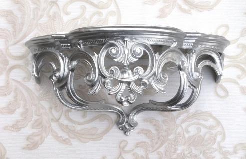 Wandkonsole Konsole Barock 50x24cm Spiegelkonsole Antik Blumenständer Wanddeko