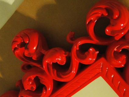 Wandspiegel Spiegel 64 X 54 BAROCK ROT Venezia 09 1