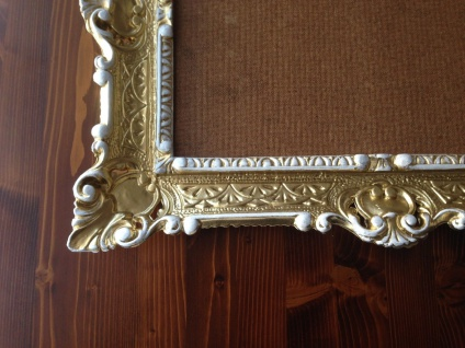 Italienischer Rahmen Gold-Weiß Bilderrahmen Barock 57x47 Antik Fotorahmen Neu - Vorschau 3