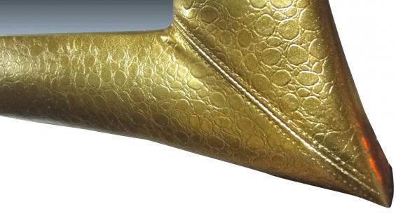 Wandspiegel Antikspiegel Gold115x85 Holzrahmen xxl großer Badspiegel Flurspiegel