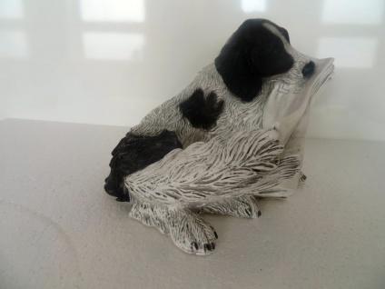 Hunde Figuren Jagdhund Labrador Bx35 x T30 x H25 Lebensecht Tierfigur Deko ITALY - Vorschau 3
