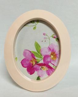 Bilderrahmen rosa Pink Fotorahmen Rosa Shabby Chic 29x23 Spiegelrahmen C121