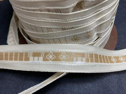 5 Meter Faltenband Gardinenband Kräüselband 35mm dekorativ Band Bordüre