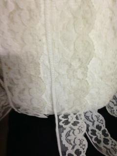 10 Meter Spitzenborte tüllspitze Weiß 4cm Tüllband Spitze Hochzeitsdeko Angebot - Vorschau 5