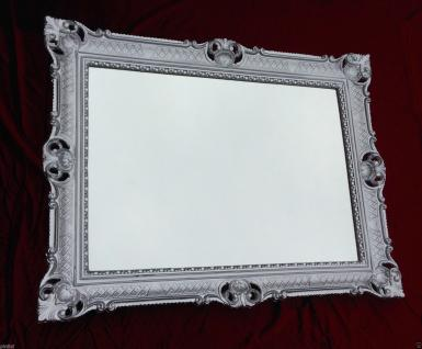 Hochzeitsrahmen 90x70 Bilderrahmen Silber gross xxl Antik Gemälderahmen Barock