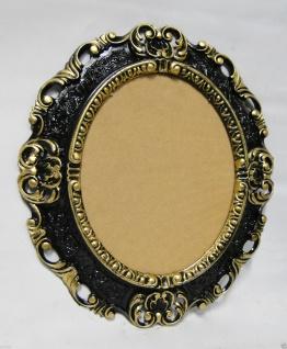 Wandspiegel Spiegel Oval Barock Antik 45x38 Oval Badspiegel - Vorschau 2