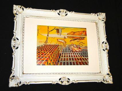 Gemälde Bild mit Rahmen Die Auflösung der Beständigkeit der Erinnerung S.DALI