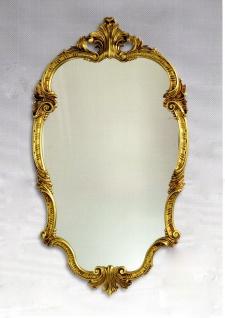 WANDSPIEGEL Oval Barock Gold 98x55 Antik Badspiegel Friseurspiegel Spiegel C410