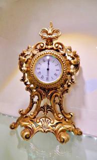 Kaminuhr & Tischuhr Standuhr Gold Barock antik Schrankuhr