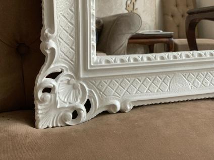 Wandspiegel Weiß Antik Barock Großer Spiegel 90x70 Badspiegel Badspiegel - Vorschau 4
