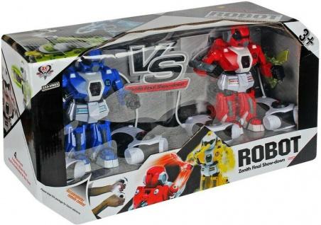 2 Roboter-Kampf-Zenith-Finale-Showdown Spielzeug Roboter 20cm